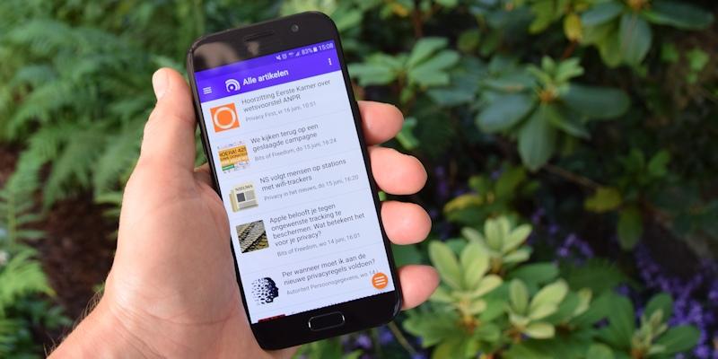 Privacy Vandaag App